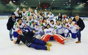 under 18 nazionale italia femminile hockey ghiaccio