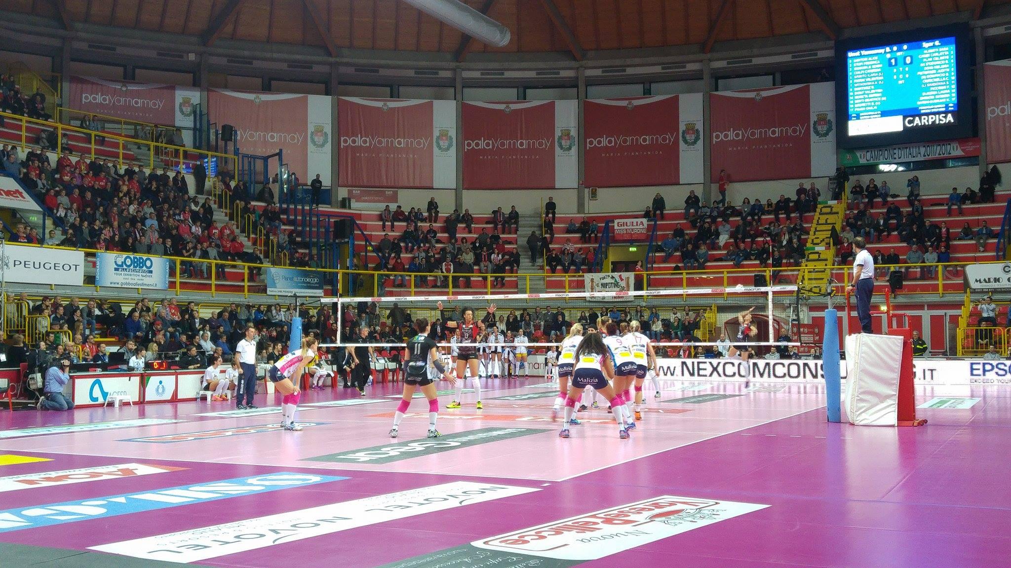 Coppa Italia-UYBA, che peccato! Novara vince al tie-break