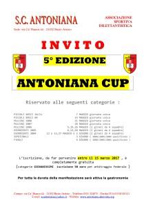 antoniana cup 2017 invito