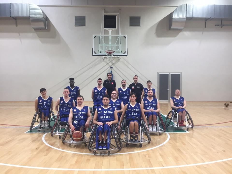 La Handicap Sport Varese parte per l'avventura in Champions Cup