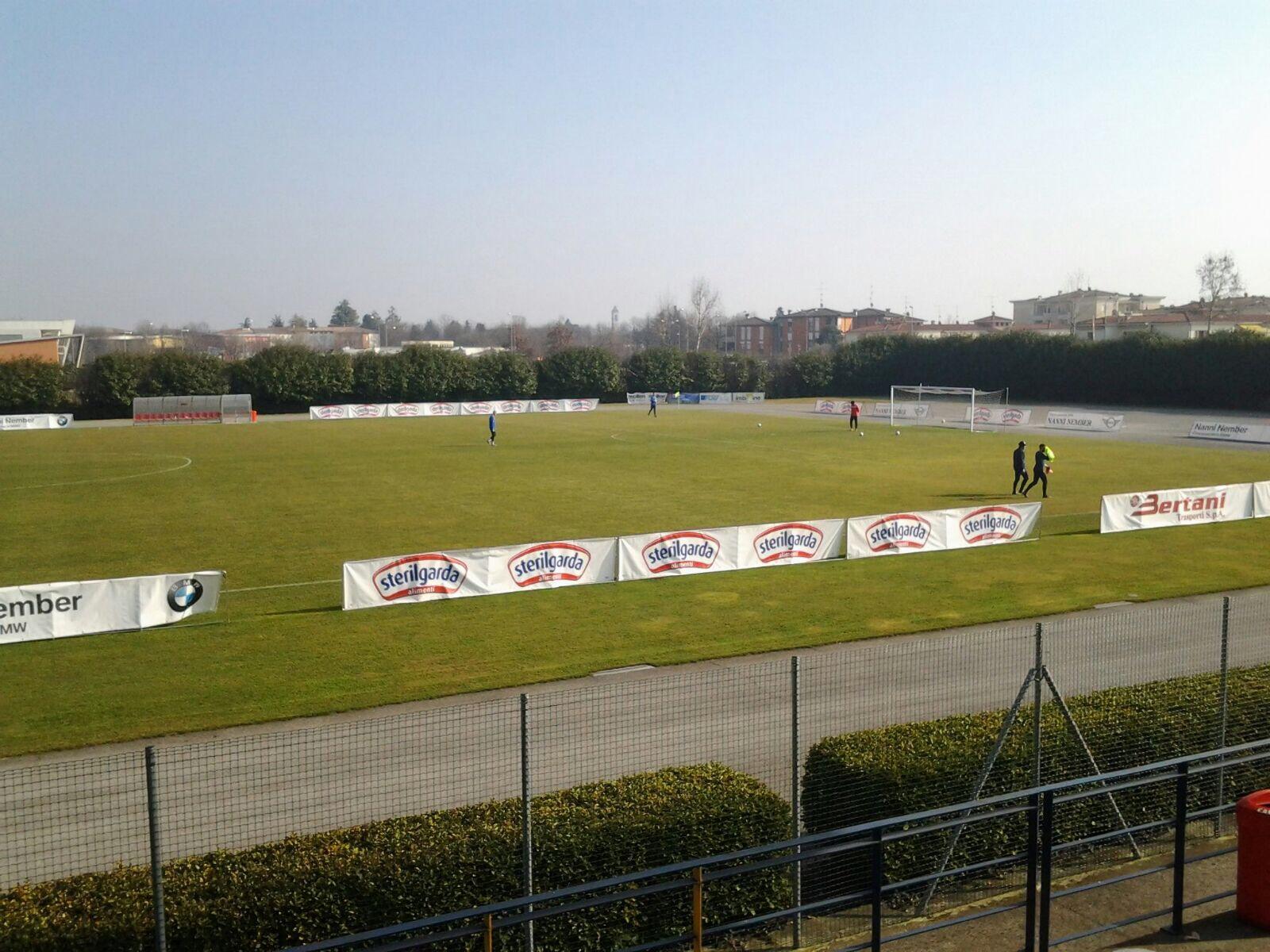 Batosta Pro Patria a Mazzano, 3-0 per il Ciliverghe