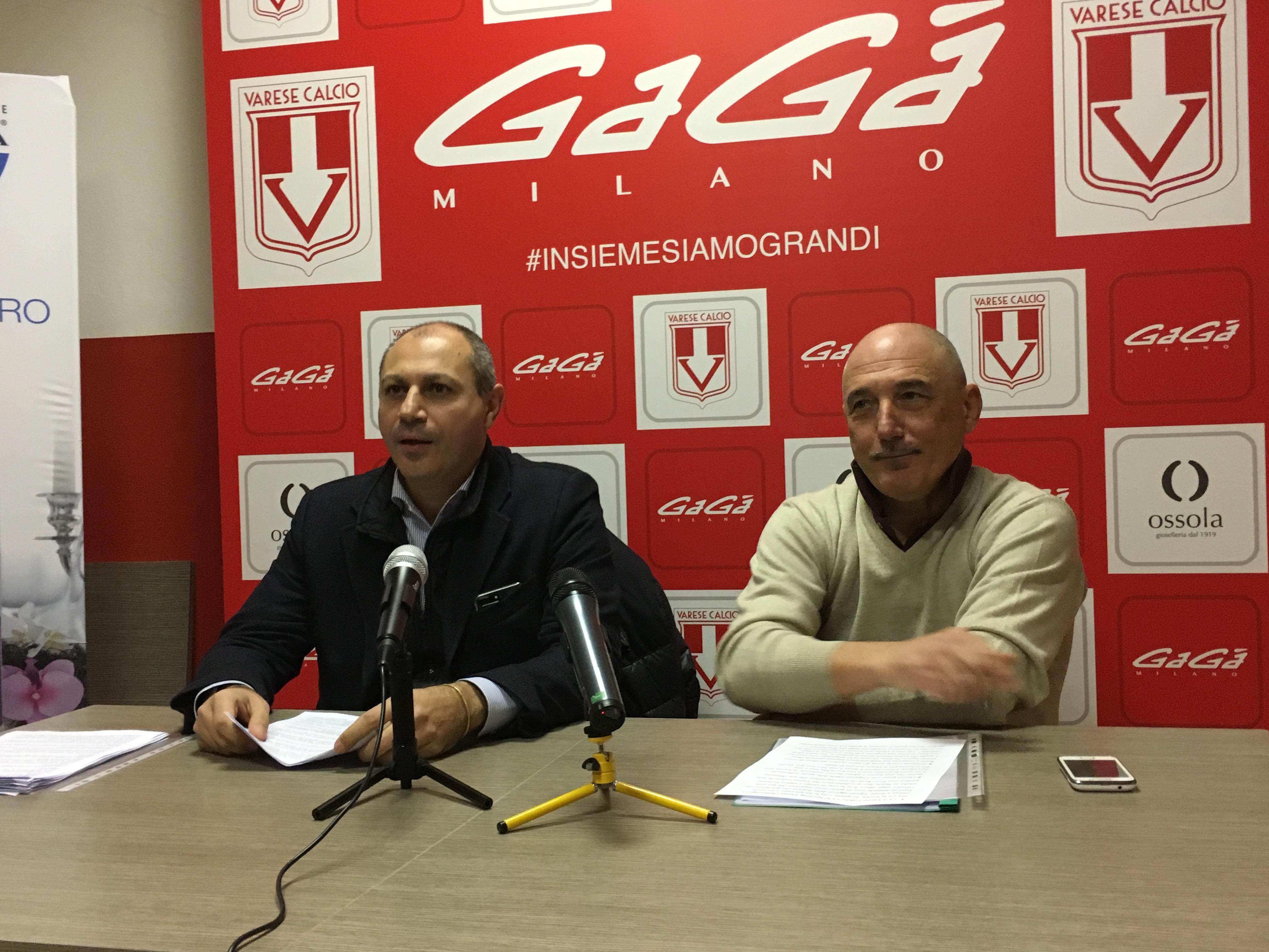 """Ciavarrella e Rosa, appello disperato: """"Situazione drammatica. Ridateci il Varese"""" – VIDEO"""