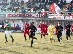 29-01-2017 Monza (MB) Stadio Brianteo Campionato Dilettanti 2016/17 Gir B Monza - Aurora Pro Patria Nella foto:L'INGRESSO