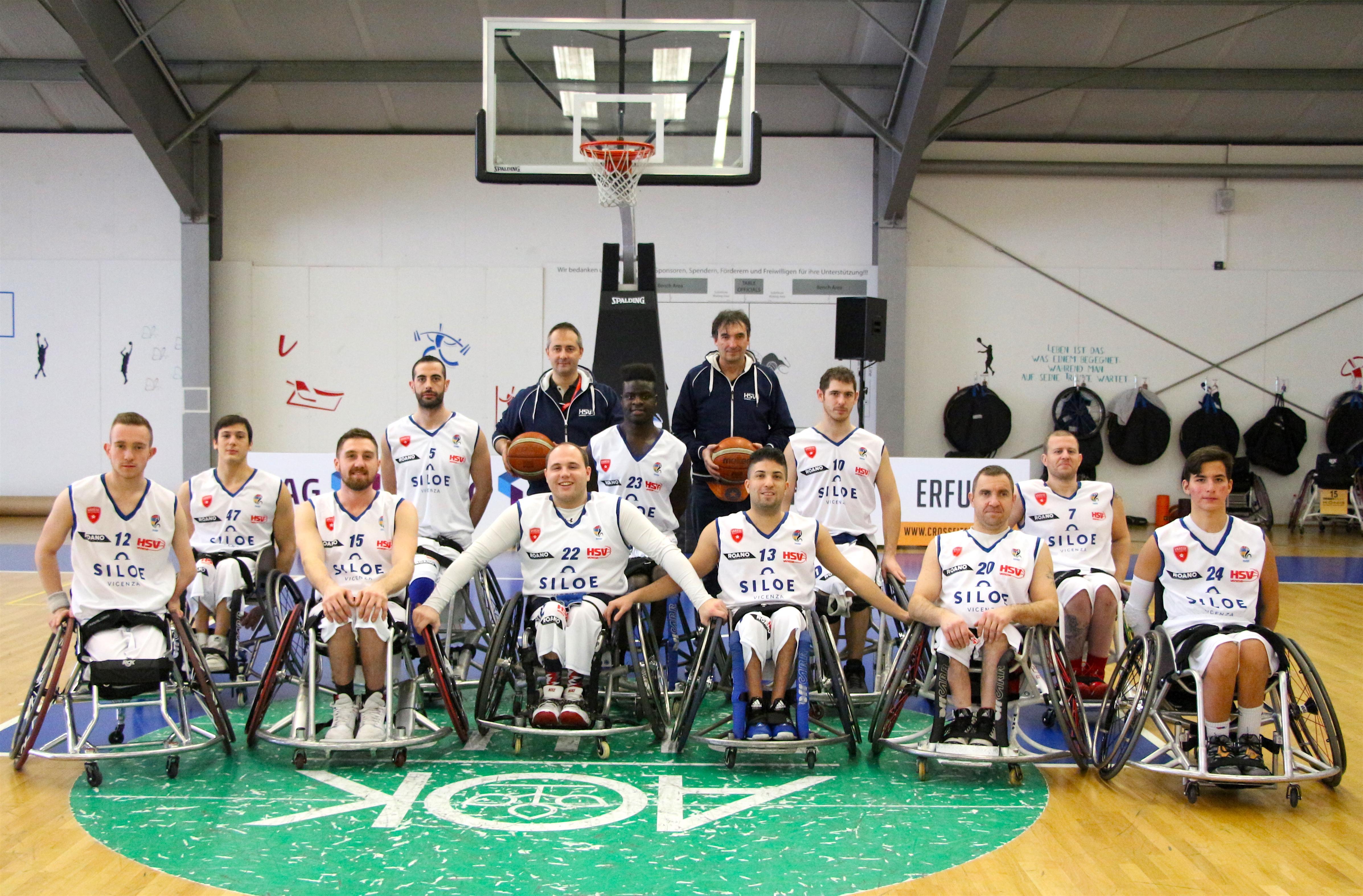 La Siloe Handicap Sport Varese guadagna la qualificazione in Brinkmann Cup
