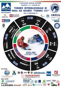 TORINO INTERNAZIONALE 2017 para ice hockey