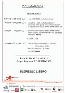 trofeo carroccio programma 2017