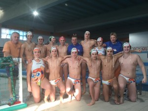 under 18 happy sport team pallanuoto
