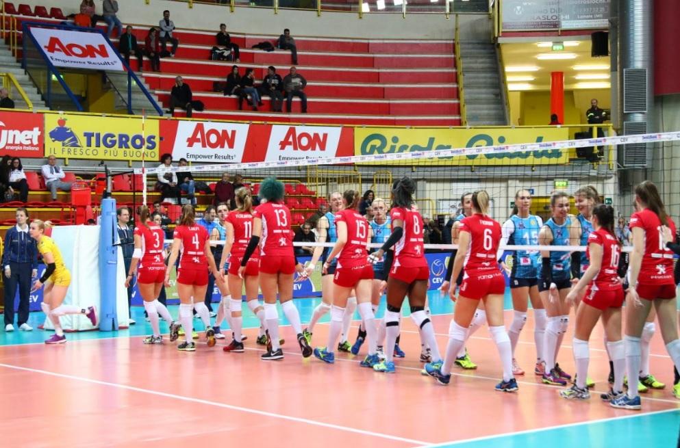 Coppa Cev – Tutto facile contro Minsk, la UYBA torna a sorridere