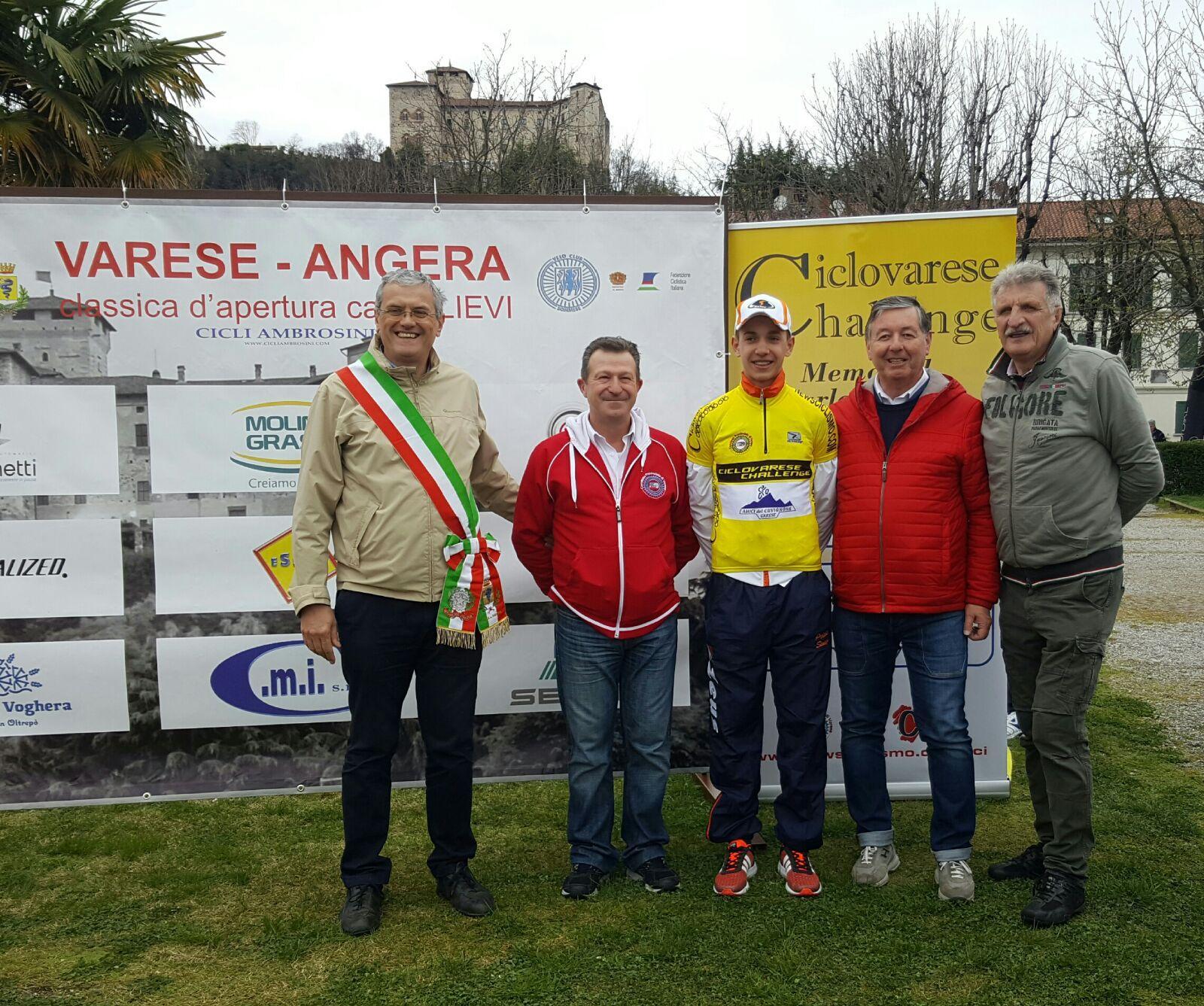 Allievi – Piccolo vince la prima tappa della Ciclovarese. Bagatin-Arioli sul podio