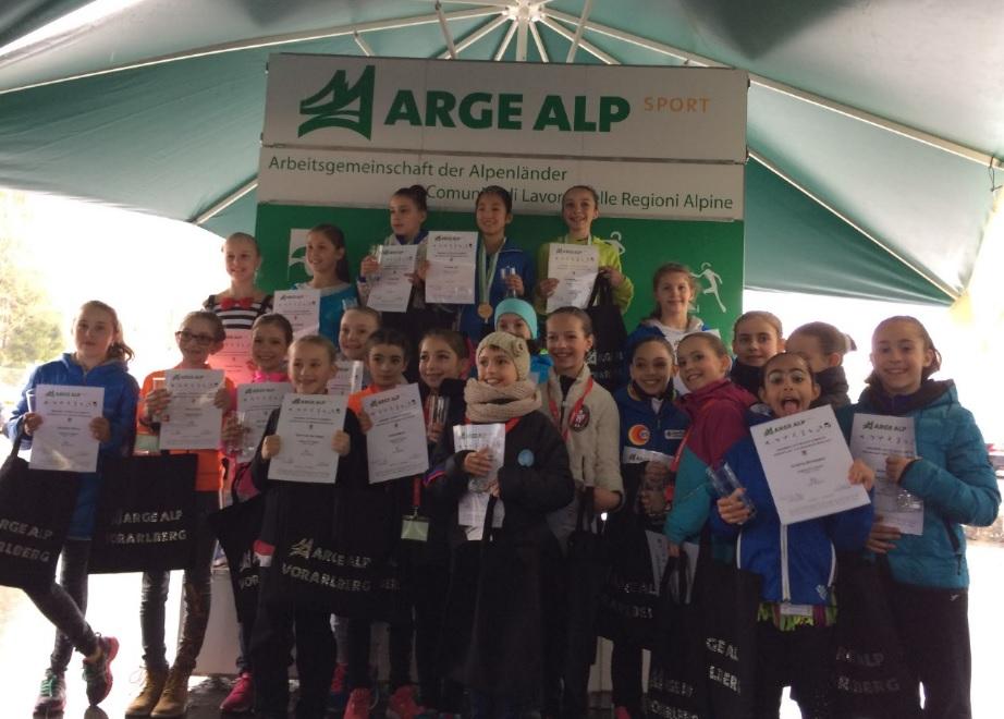 L'Ice Emotion festeggia Broggini all'Arge Alp Cup