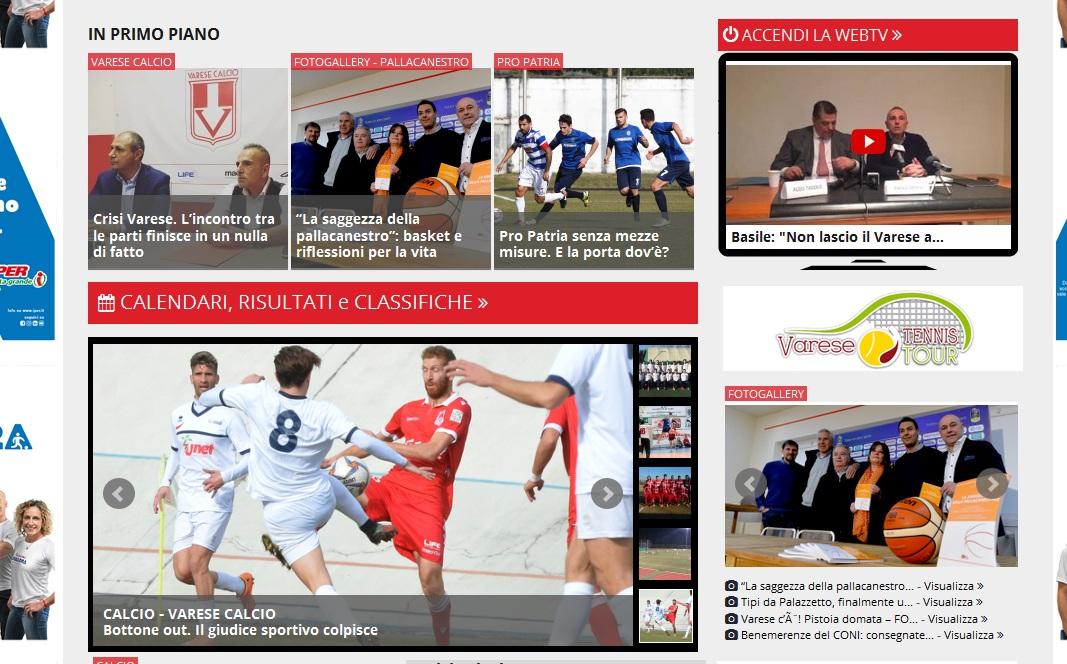 I più letti della settimana: dominio Varese Calcio e un po' di Pro Patria
