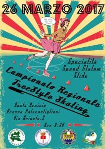 campionato regionale pattinaggio locandina