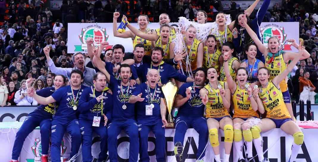 Conegliano trionfa in Coppa Italia