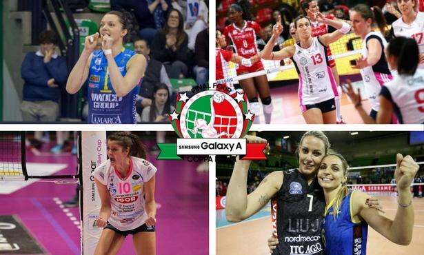 Final Four di Coppa Italia: Conegliano per il bis, chi sarà l'antagonista?