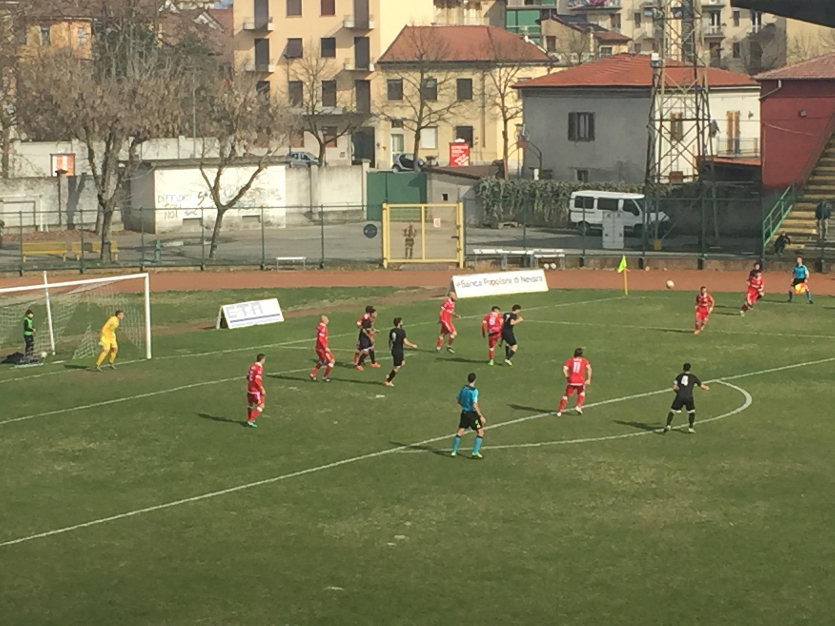 Varese, secondo stop di fila. Vince il Casale 2-1