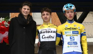 Mattia Petrucci podio Piccola San Geo juniores