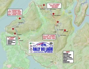 rally dei laghi cartina percorso 2017