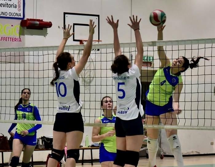 Opel Passeri Luino Volley poco concreta: Induno vince e allunga in vetta