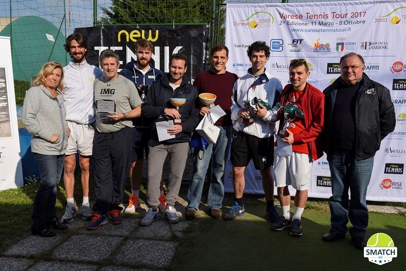 Varese Tennis Tour, a Samarate la prima tappa è un trionfo