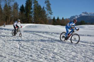 Winter_Triathlon_bicicletta Tarvisio