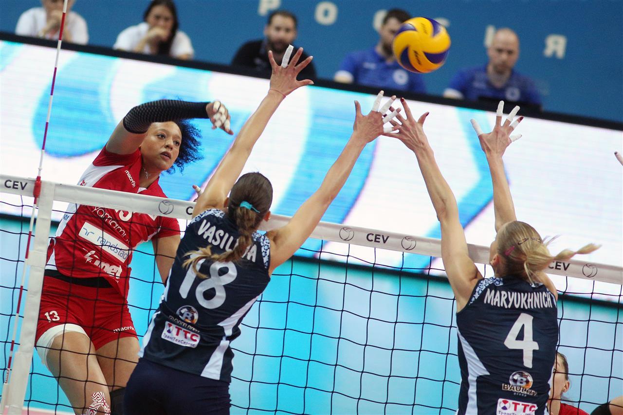 Coppa Cev, la finale – UYBA ko in quattro set a Kazan, ma le farfalle ci sono