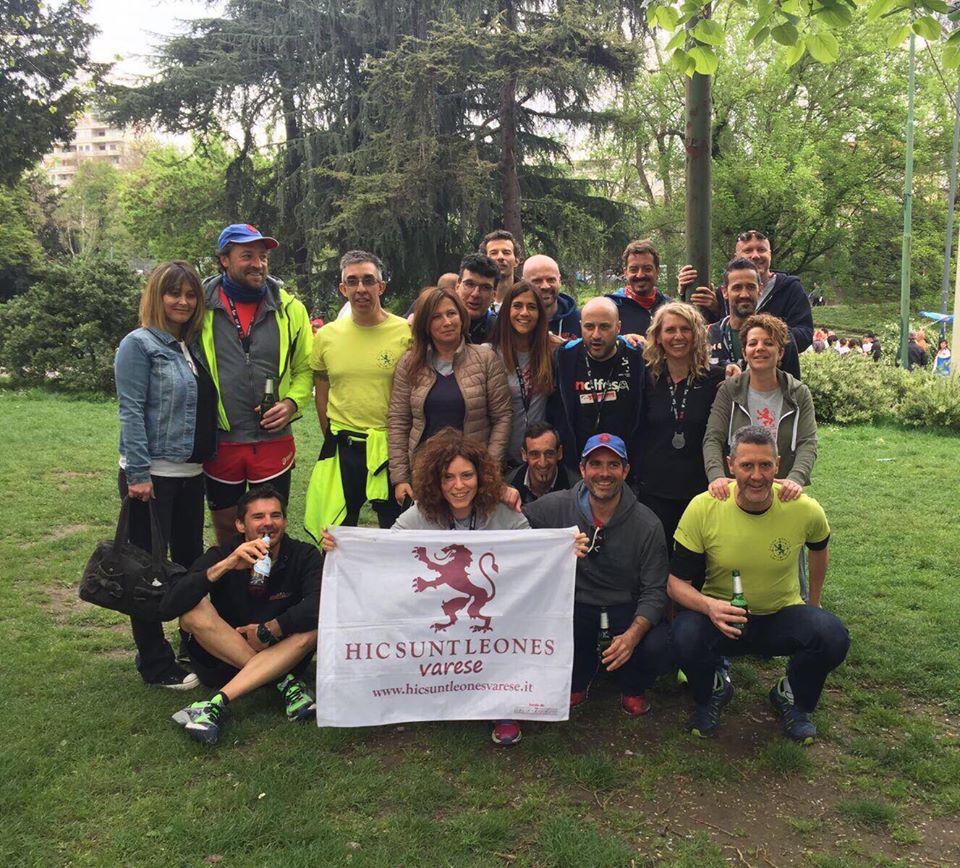 Hic Sunt Leones alla Milano City Marathon