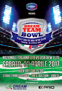 locandina-dream-team-bowl varese 2017