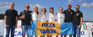 4- ragazzi femminile Canottieri Varese