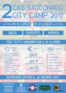 Cas sacconago Camp 2017
