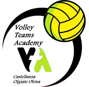 volley teams academy logo