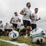 sesto calende varese presentazione squadra calcio allenamento
