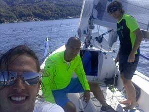 leo di venosa barca a vela