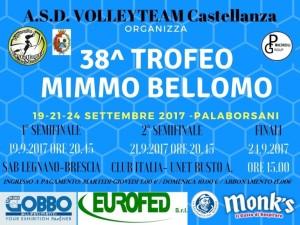 Trofeo Mimmo Bellomo 2017 locandina