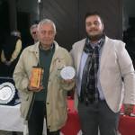 Giuliano Giamberini Giudice Arbitro Master Finale nella foto con Davide Golinelli