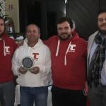 Il Team della Scuola Tennis Varese che hanno ospitato il Master Finale nella foto con Davide Golinelli