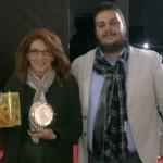 Laura Brunoni agenzia Graffiti Comunicazione D'impresa nella foto con Davide Golinelli