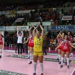 UYBA-Pesaro 16 esultanza