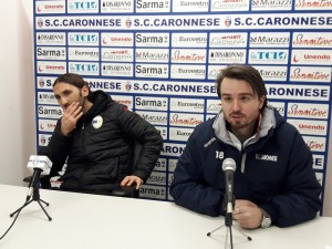 Caronnese-Pro Sesto sala stampa