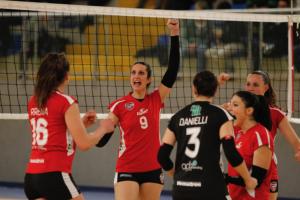 Futura Giovani Busto Arsizio-Biella volley b2 femminile