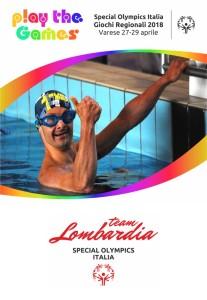 Locandina Special olympics 2018