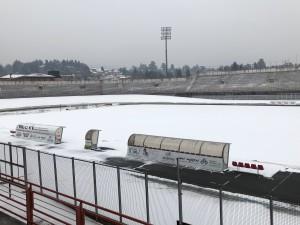 Stadio Ossola neve