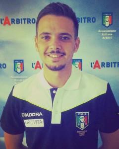 Alessio Angelo Boscarino arbitro