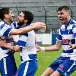 busto arsizio pro patria lumezzane pettarin gol 1-0