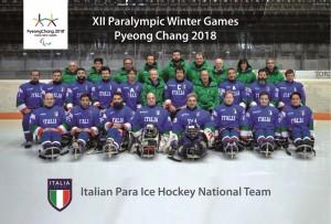 sledge hockey italia paralimpiadi 2018