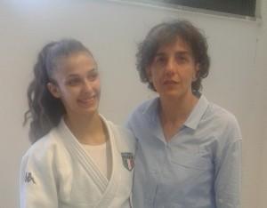 Alessia Tedeschi e Cinzia Cavazzuti judo