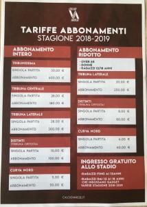 Campagna abbonamenti Varese