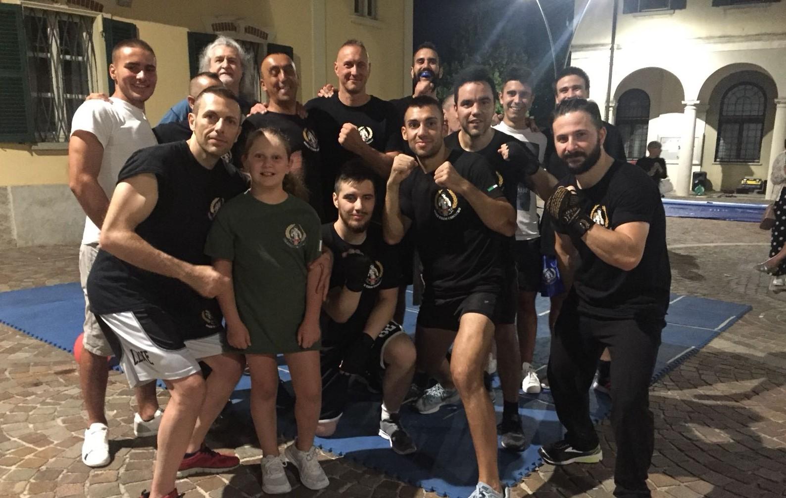"Boxe Team Camacho protagonista alla ""Gavirate Rosa Shopping"""