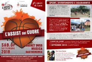 assist del cuore pallacanestro