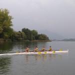 Canottieri Luino Eupilio 4x cadetti barca