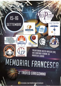 memorial francesca basket